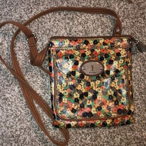 Fossil crossbody purse - GREAT condition